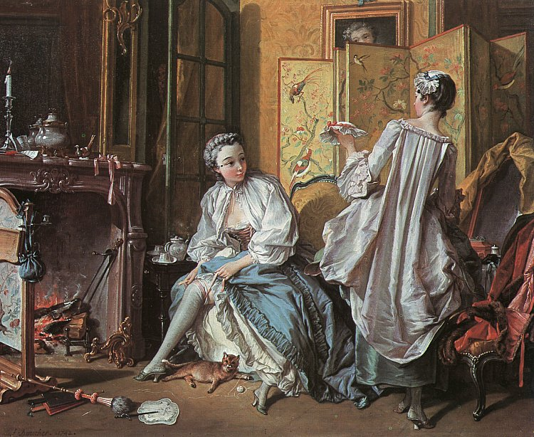 Francois Boucher - The Toilette