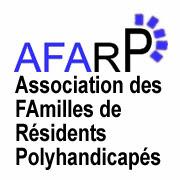 Logo de l'AFARP en bleu et noir