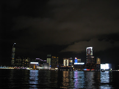 Nightlife at Victoria Harbor