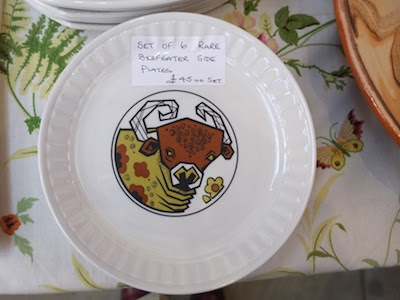 All Our Yesterdays - Beefeater sideplates