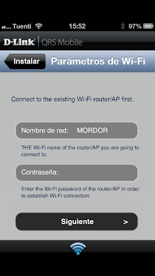 Parámetros de Wifi