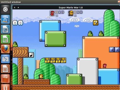 Super Mario War su Ubuntu Linux