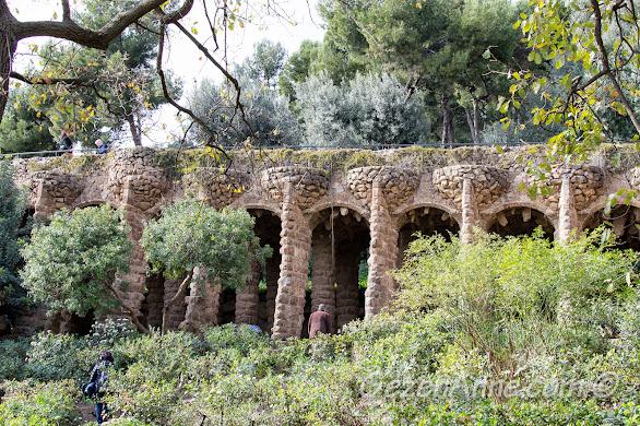Park Güell ortamı, Barselona