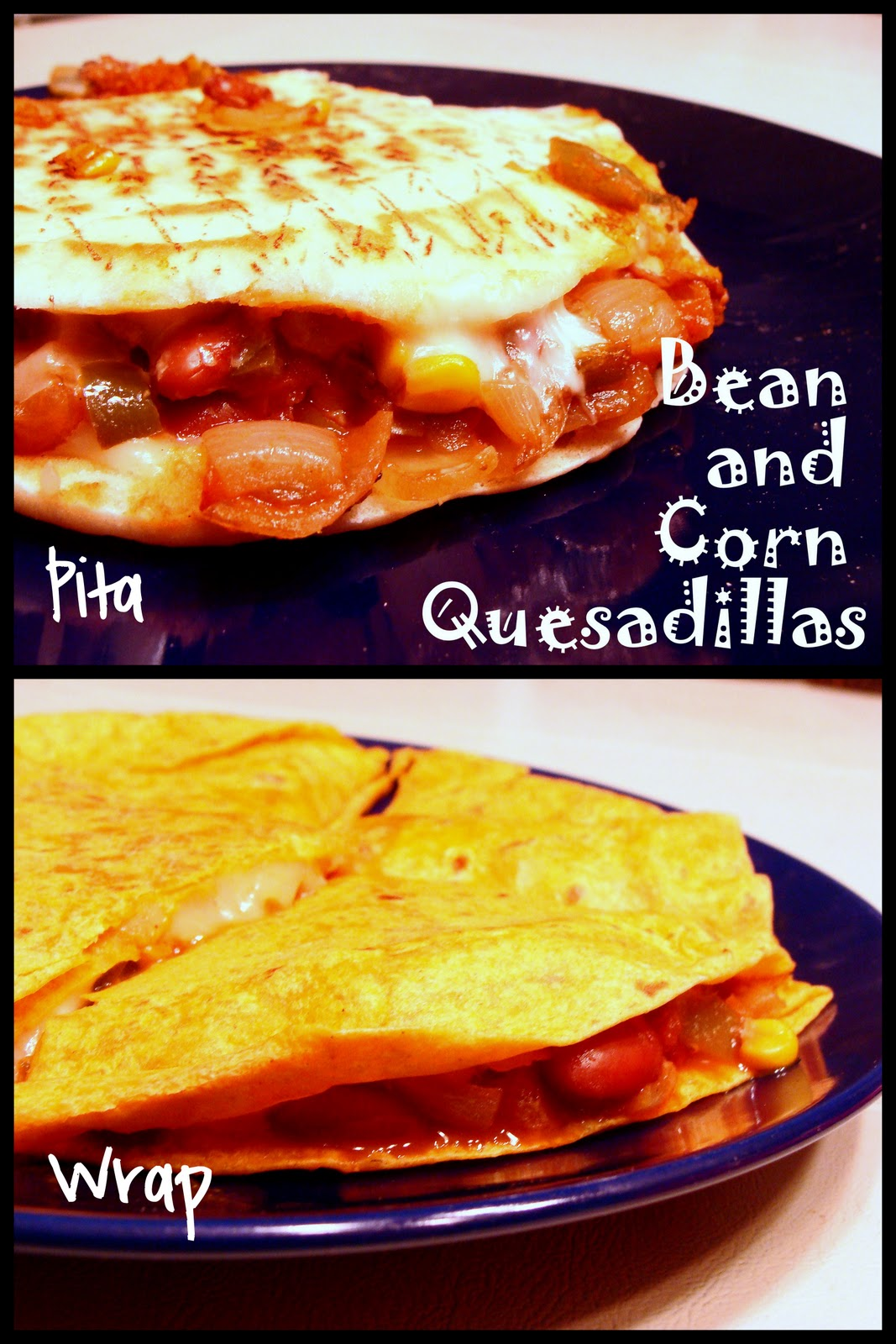 Cantstopbaking: Bean and Corn Quesadillas
