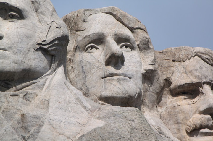 Faces, Mount Rushmore