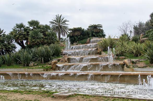 Montjuic'te süs havuzları