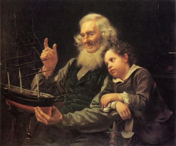 John George Brown - A Story of the Sea