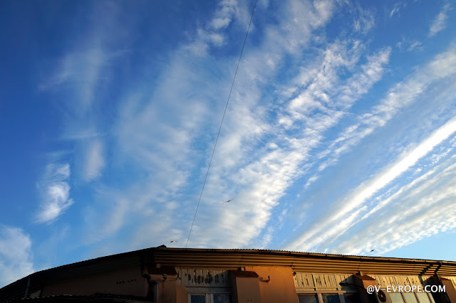 калининград, небо