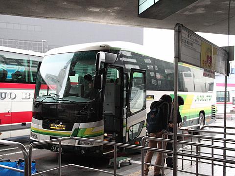 北都交通「ポテトライナー」 3167 中央バス札幌ターミナル改札中