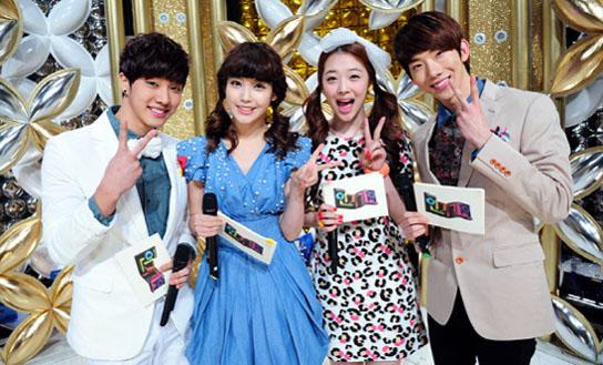 Due to various reasons, Kan Mi Youn, Song Ji Eun, and G.NA ...