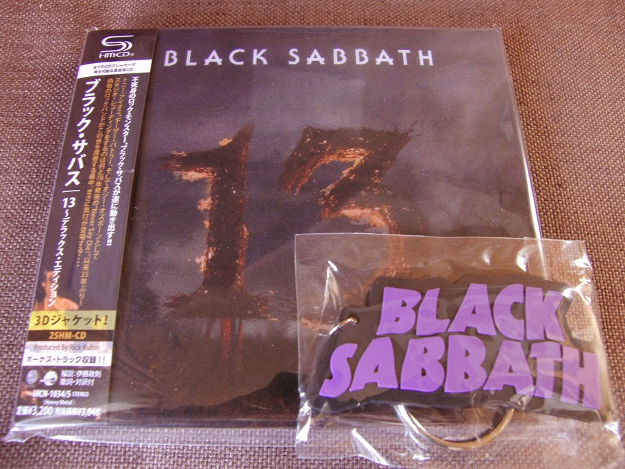 Details about Sealed! w/KEYCHAIN! BLACK SABBATH 13 JAPAN -ONLY 2SHM-CD  Deluxe OBI UICN-1034/5