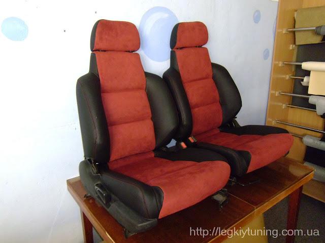 Перетяжка сидений
