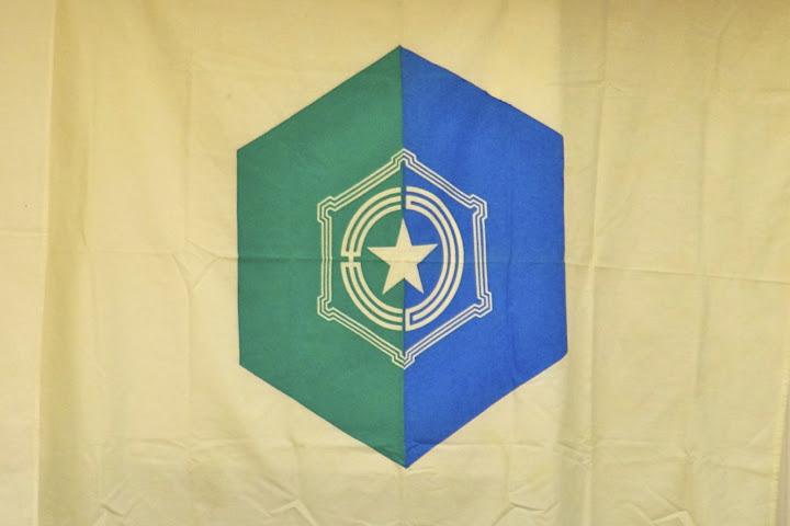さっぽろ北竜会の旗