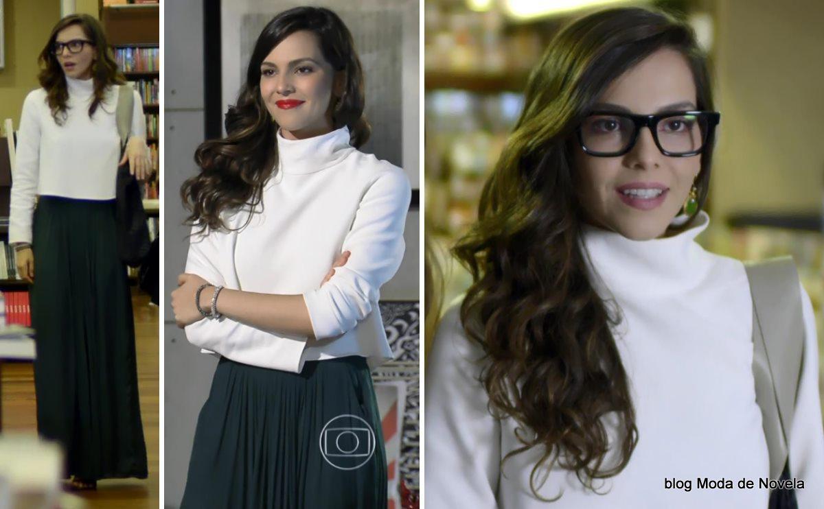 moda da novela Em Família - look da Marina dia 16 de maio