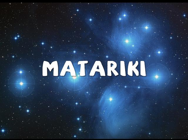 Matariki is the traditional