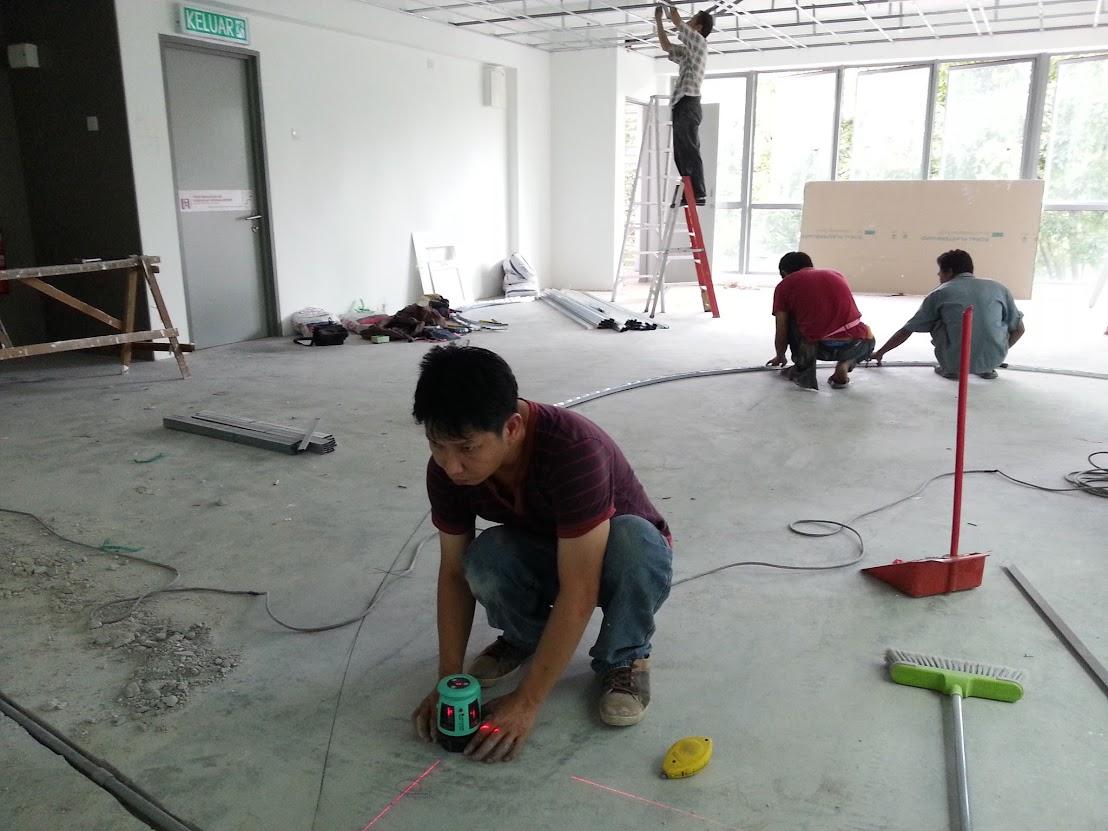 marking floor