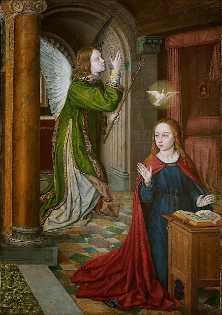 Master of Moulins - The Annunciation
