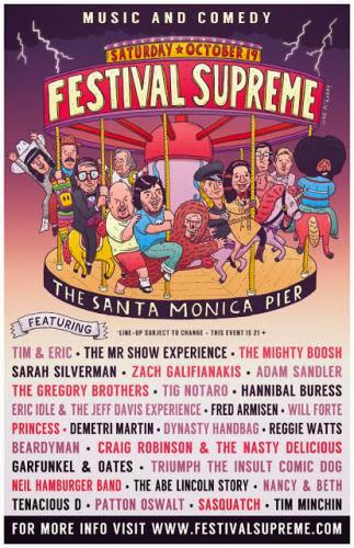 Comedy Festival Supreme Sutra