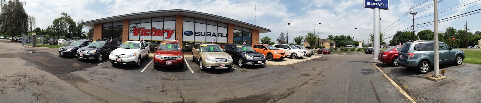 Subaru Dealership Photo