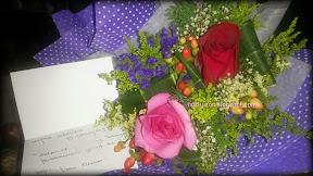sejambak bunga ros