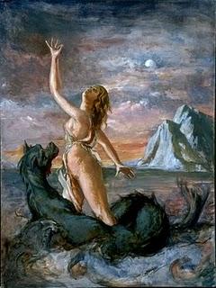 Goddess Eurynome Image