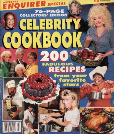 National Enquirer Celebrity Cookbook