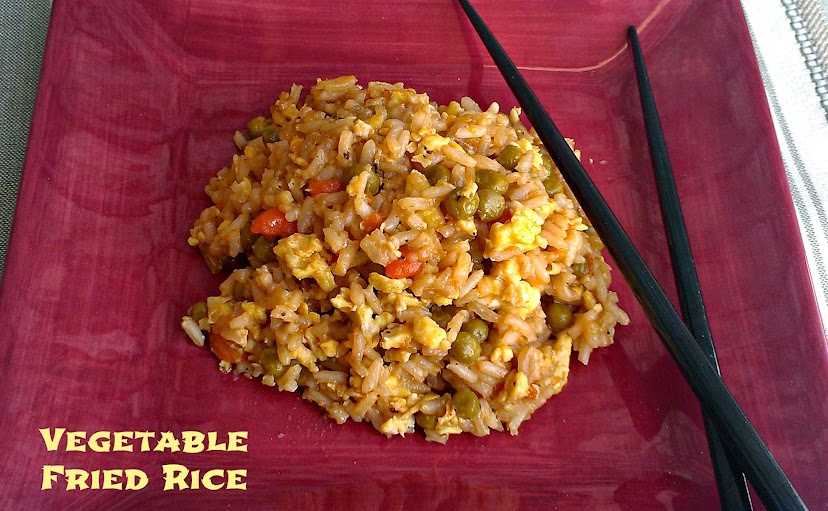 Easy Vegetable Fried Rice Recipe #SuccessRice