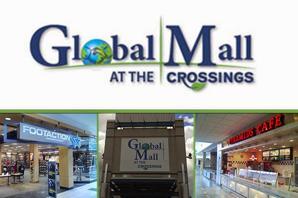 Mall Antioch TN Global Mall at the Crossings Logo