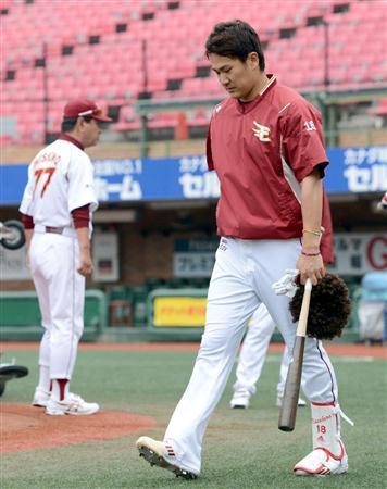 【画像】楽天のマー君こと田中将大選手がアフロになるも星野監督に怒られてしょんぼり