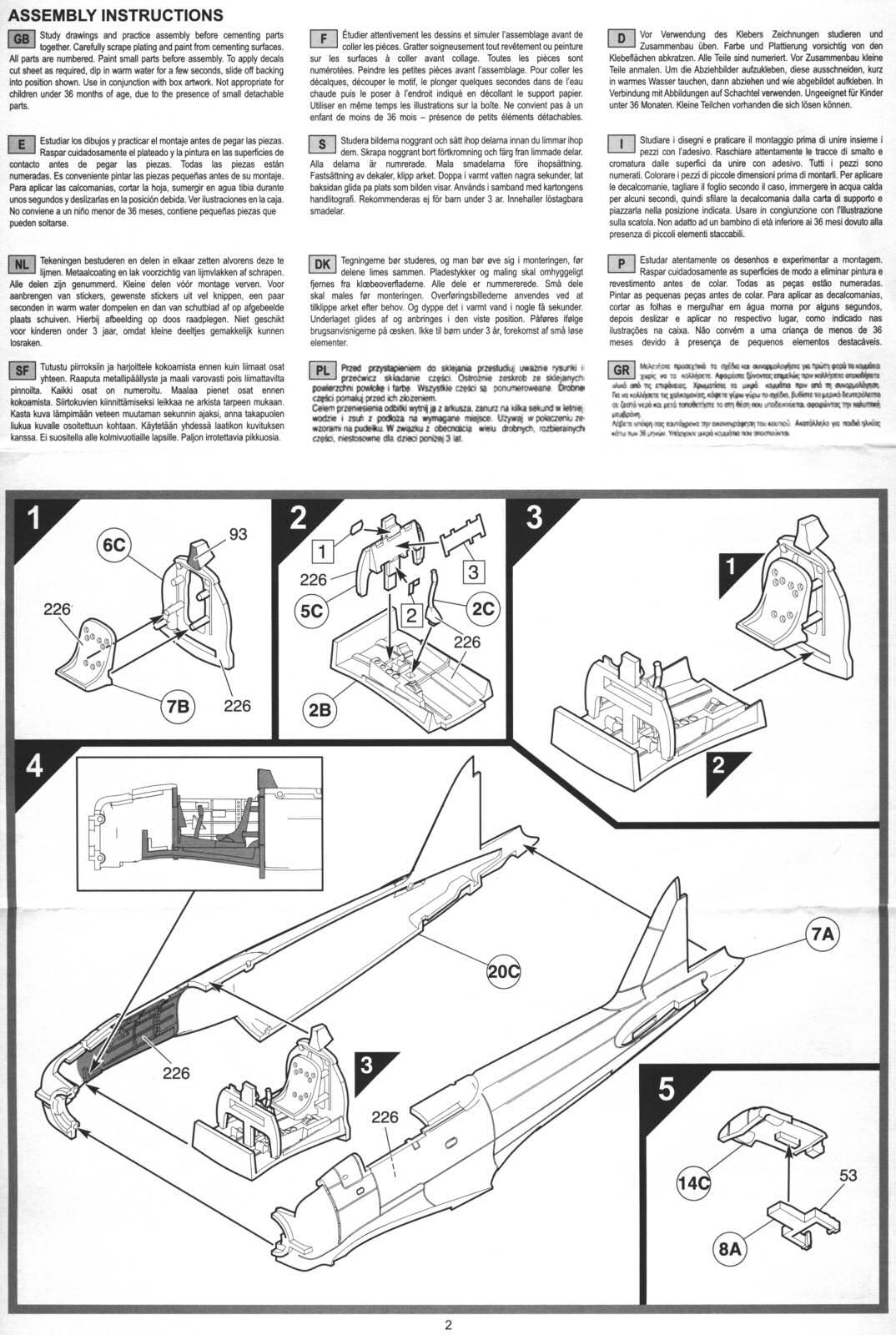 3eb2b8a5 Airfix 1/72 Mitsubishi A6M2 Zero (A01005) - - The Airfix Tribute Forum -