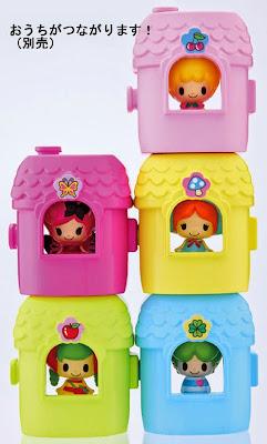 Ngôi nhà mini có thể chứa được búp bê Koringo