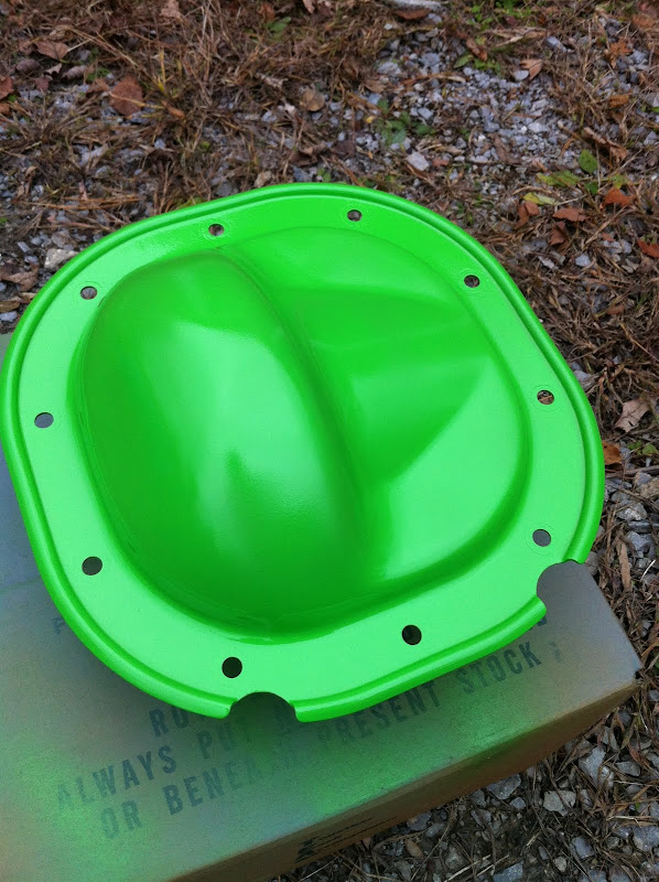 Painted Differential Cover Mustangforums Com