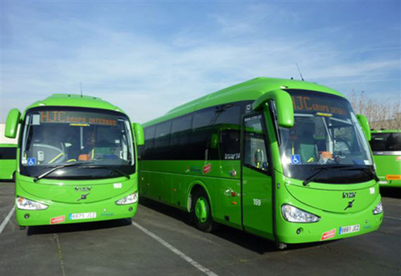 7 nuevos autobuses urbanos e interurbanos para Colmenar Viejo