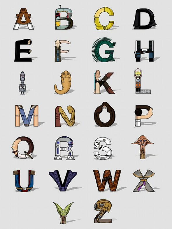 Alphabet Star Wars