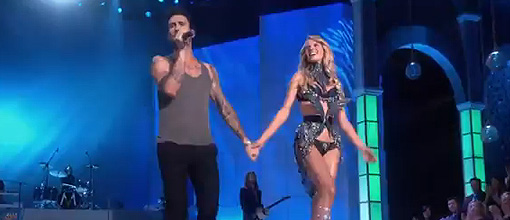 Jay-Z & Kanye West, Maroon 5 and Nicki Minaj @ the 2011 Victoria's secret fashion show | Live performances