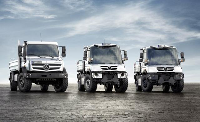 Mercedes-Benz Unimog - новый супервнедорожник
