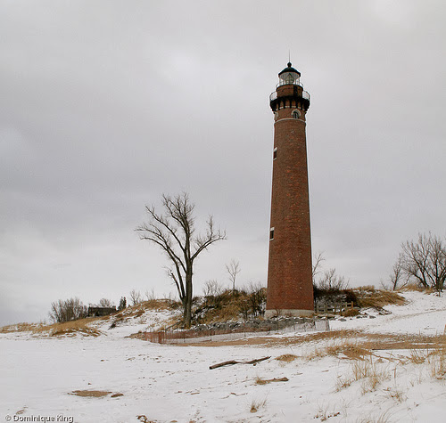 Litte Sable Point lighthouse