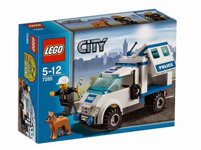 7285 レゴ シティ 警察 レゴ シティ ポリスバン