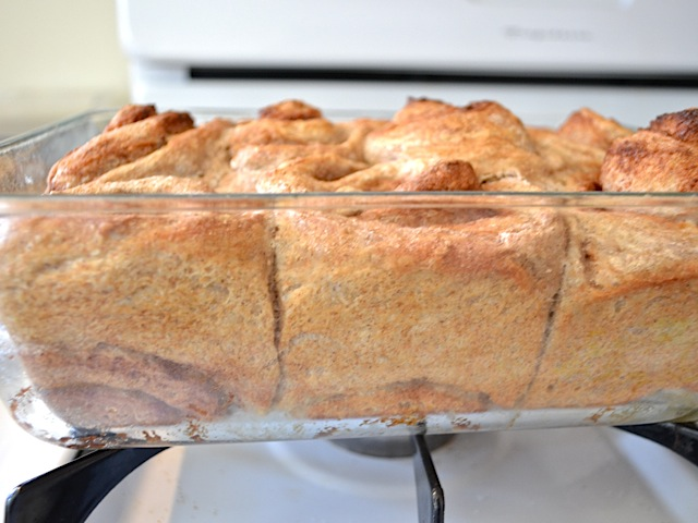 baked rolls side