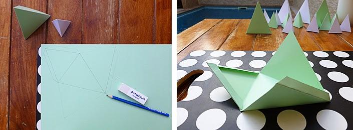 Créer un calendrier de l'avent en papier.