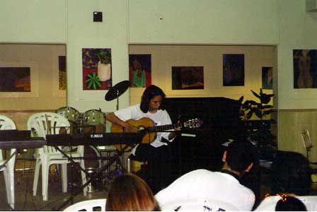 Концерт учащихся Титора.  20.06.1998