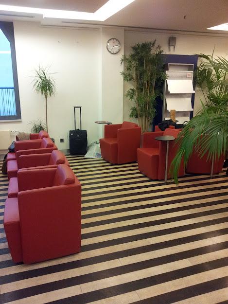 Blick in die DB Lounge