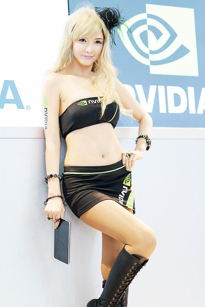 Showgirl G-star 2012: Cha Sun Hwa - Ảnh 11