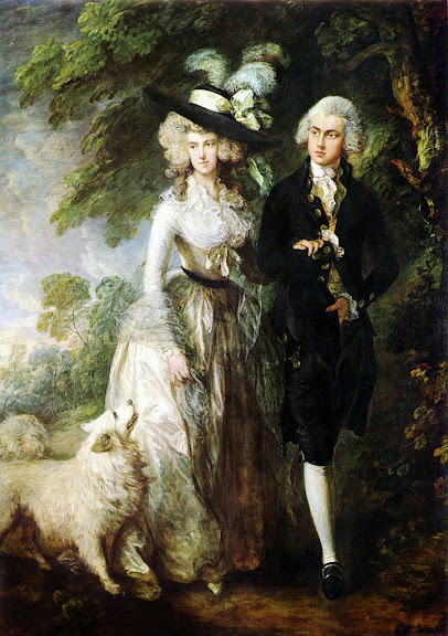 Thomas Gainsborough - Mr and Mrs William Hallett ('The Morning Walk')