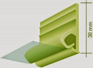 Монтаж натяжного тканевого потолка на клипсы