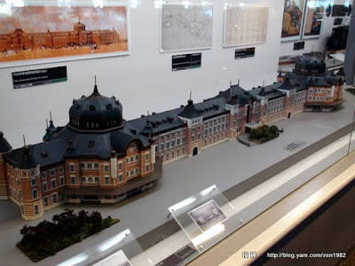 東京車站模型