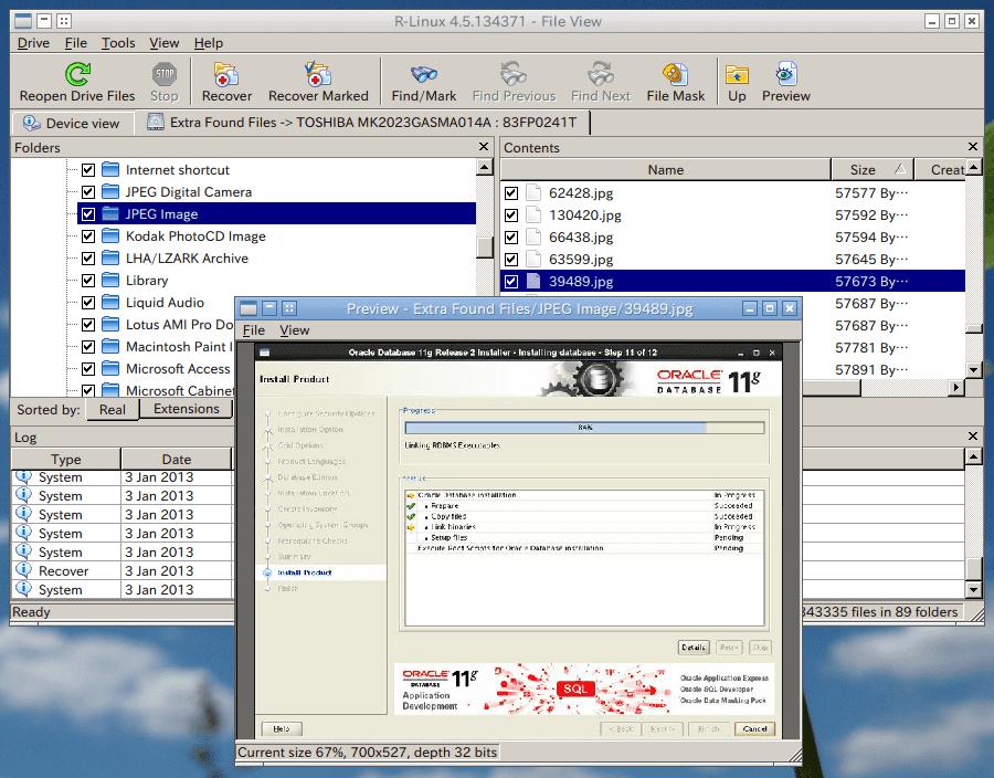 LVMでディスクを管理していましたが、消したデータを抽出することができました。前の持ち主が保存していた写真なども出てきます\u2026ハードディスクを売る時は個人情報の