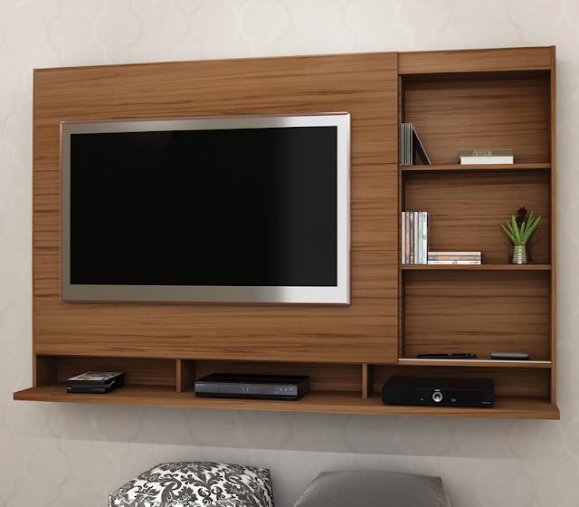 Home Suspenso Para Sala De Tv ~ Home Painel P Tv Lumiére Bancada Suspensa Com Suporte  R$ 619,00 em