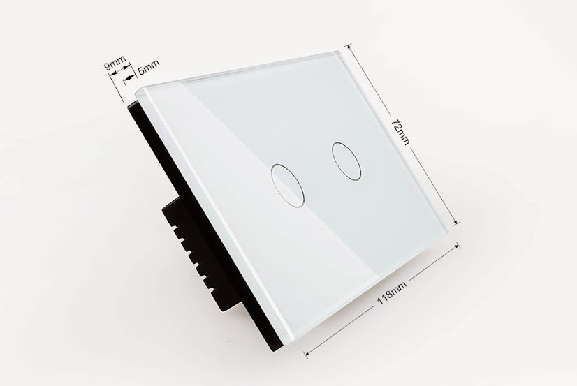Сенсорный диммер на две клавиши