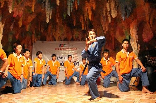 CLB Vovinam, FPT Polytechnic biểu diễn